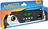 Calculated Industries 7200 AccuMASTER Digital Waterproof IP67 Torpedo Level and Protractor, Magnetic, 9-inch