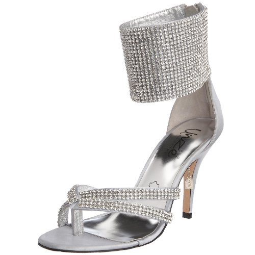 Unze London Women's NY511-08 Sandal Silver L14599 8 UK