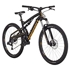 Diamondback Bicycles 2015 Atroz Full Suspension Complete Mountain Bike, 20-Inch/Large, Black