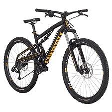 Diamondback Bicycles 2015 Atroz Full Suspension Complete Mountain Bike, 18-Inch/Medium, Black