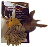 image SmartyKat FlutterNest Electronic Bird-Sound Cat Toy