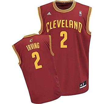 Kyrie Irving Cleveland Cavaliers Red NBA Kids Revolution 30 Replica Jersey by adidas