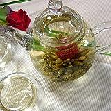 中国茶 ギフト 工芸茶と茶器セット1