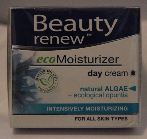 Beauty Renew Echo Moisturizer Day Cream Natural Algae + Ecological Opuntia