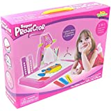 Little Treasures Drawing & Painting Pink Projector Painting Set 3 In 1 High Tech Learning Set Including A Table...