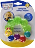 Baby Einstein Rattle and Teether Caterpillar, Colors May Vary