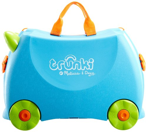 Melissa & Doug Trunki - Terrance (Blue)