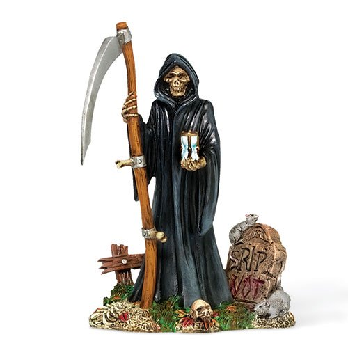 GRIM REAPER Dept 56 Halloween Village Figurine NEW
