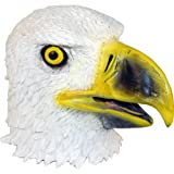 Realistic Eagle Mask: Full Face Rubber Latex Costume Mask
