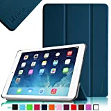 IPad Air 2 Case - Fintie SmartShell Case for Apple iPad Air 2 (iPad 6) 2014 Model, Ultra Slim Lightweight Stand with Smart Cover Auto Wake / Sleep Feature, Navy