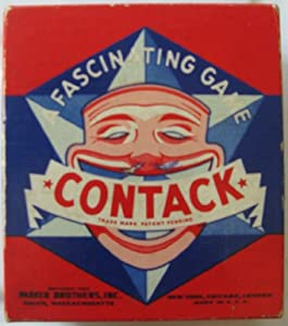 Amazon.com: Vintage 1939 Parker Brothers Contack Game ...