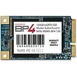 MyDigitalSSD 128GB (120GB) 50mm Bullet Proof 4 BP4 50mm mSATA Solid State Drive SSD SATA III 6G - MDMS-BP4-120