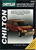 Chilton Automotive Books Chrysler Caravan, Voyager, Town and Country (1984-95) (Chilton Total Car Care)