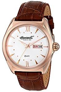 Ingersoll Men's INQ002SLRS Hanover Analog Display Japanese Quartz Brown Watch