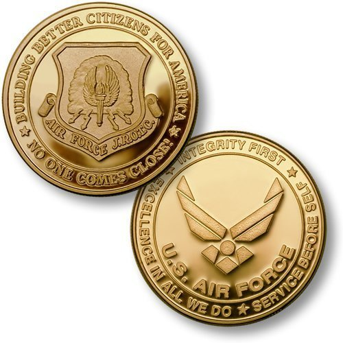Air Force JROTC MerlinGold Challenge Coin - 1