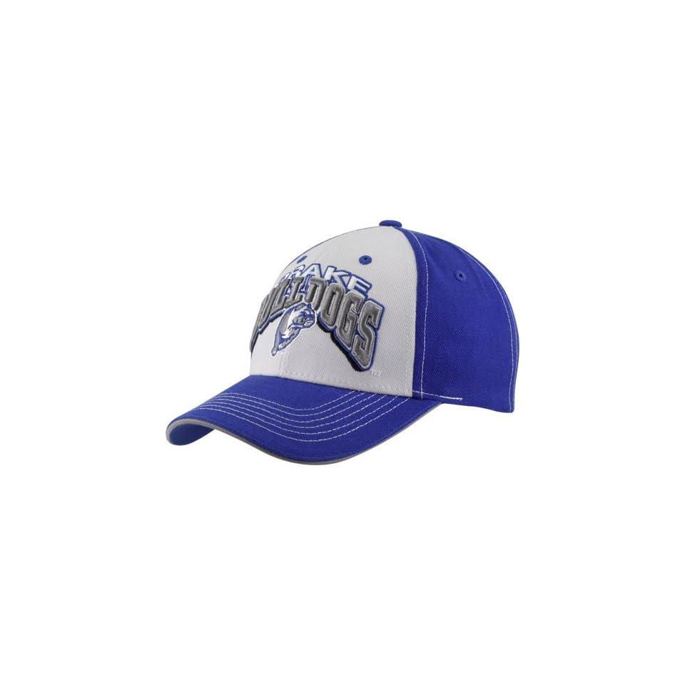 54b160ae94f Top of the World Drake Bulldogs Royal Blue White Big Shot Adjustable ...