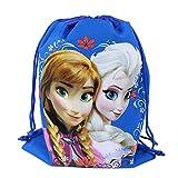 Officially Licensed Disney Drawstring Bag - Anna and Elsa