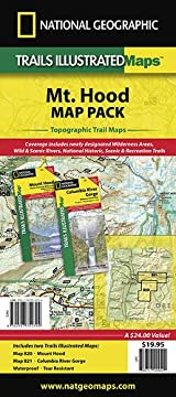 Mount Hood Map Pack (includes #820 and #821)
