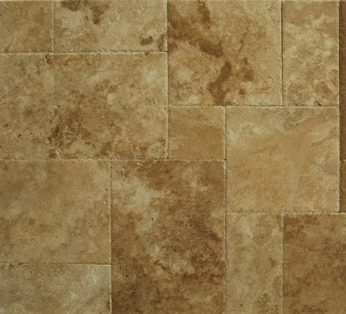 Walnut Travertine Versailles / Ashlar Pattern Tiles (UF/B/CE)