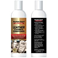 BooYah Clean Leather Cleaner and Conditioner 16 oz. Natural pH-balanced Plant-based Formula That Cleans, Conditions and Protects - All-in-One Premium Leather Care Cleaner For Your Car And More by BooYah Clean