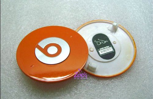 Replacement Battery Cover for Dre Beats Studio Orange