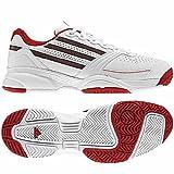 adidas(アディダス) テニスシューズ メンズ アディゼロ Mana M ランニングホワイト/ソリッドレッド 27 ランキングお取り寄せ