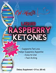 Raspberry Ketones Drops Fast-acting Liquid Weight Loss Drops Superior Liquid Raspberry Ketones Sublingual Formula Premium Drops Absorb Three 3 Times Faster 60 Servings Per Bottle Full Thirty 30 Day Supply from Opt Health