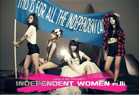 Miss A - Independent Women pt.III (韓国盤)