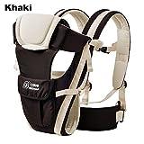 hibote 4 en 1 Portabeb�s mochila de Tejido de Poli�ster Simple y Doble Hombro Conversi�n para Beb�s ni�os ni�as