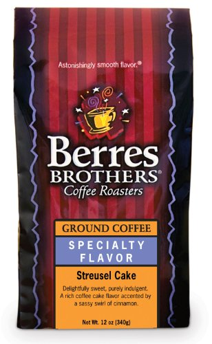 Berres Brothers - Ground Streusel Cake Coffee - 12 Ounce Ground