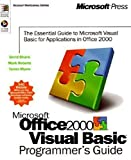 img - for Microsoft Office 2000/Visual Basic Programmer's Guide (Microsoft Professional Editions) by Shank, David, Myers, Tamra, Roberts, Mark (1999) Paperback book / textbook / text book