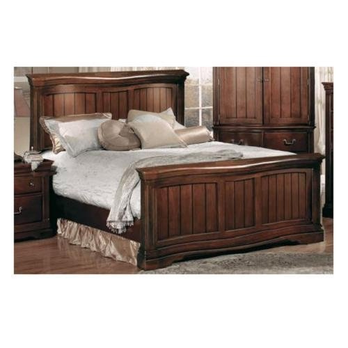 Accent Furniture - Greenbriar CK Bed w/Lights - HA859405-15-25