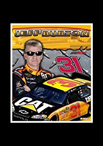 Jeff Burton 8 X 10 Unframed Photo In An 11 X 14 Black Mat by R R Imports