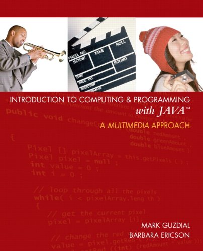 Introduction to Computing and Programming with Java 0131496980 pdf
