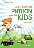 Cahier d'activités Python pour les kids