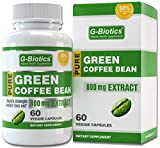 G-Biotics Green Coffee Bean Extract PURE 800mg - EXTRA POTENT ULTRA Premium Weight Loss Pill - (50% Chlorogenic Acid) - Supports Healthy Natural Weight Loss - 1600mg Per Day - Full 30 Days Supply