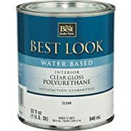 - W64V00801-44 Best Look Water-Based Polyurethane-INT W/B GLS POLYURETHANE
