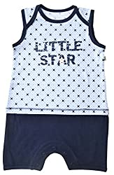 Babeez Baby AOP Short Romper (100% Cotton) to fit height 68 - 74cms