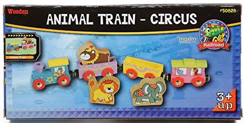 Wooden Animal Train Circus - Thomas & Friends / BRIO Compatible