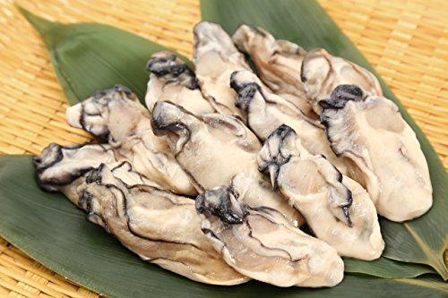 広島県産 冷凍 加熱調理用牡蠣 Lサイズ 大粒かき 1kg (約40粒前後)
