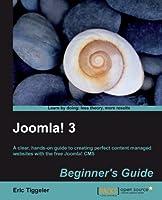 Joomla! 3 Beginner's Guide Front Cover