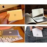 Silver Portable Apple Macbook Air Designe Mini Cosmetic Make-Up Compact Mirror
