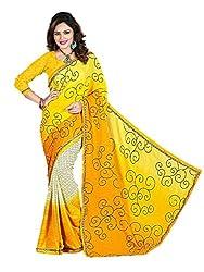 Gopika Creation Women's Georgette Saree_gop75_Multicolored_Freesize