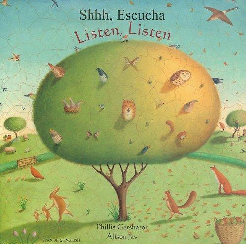 Listen, Listen in Spanish and English