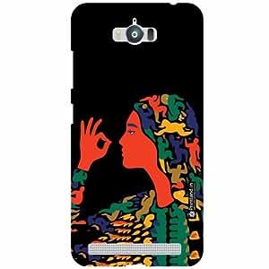 Asus Zenfone Max ZC550KL Back Cover - Illustration Designer Cases