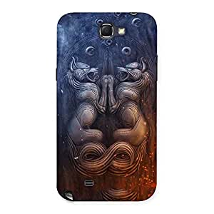 Delighted Hell Door Back Case Cover for Galaxy Note 2