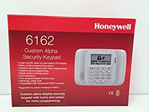 Honeywell 6162 Custom Alpha Security Keypad Replacement for 6160