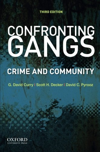 Confronting Gangs: Crime and Community PDF