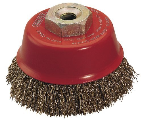 Draper Expert 52634 60 mm x M10 Crimped Wire Cup Brush by Draper