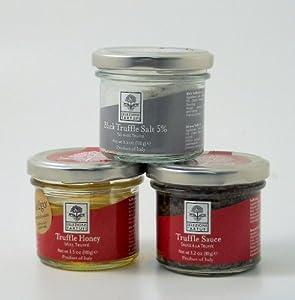Selezione Tartufi, Truffle Salt, Sauce, and Honey